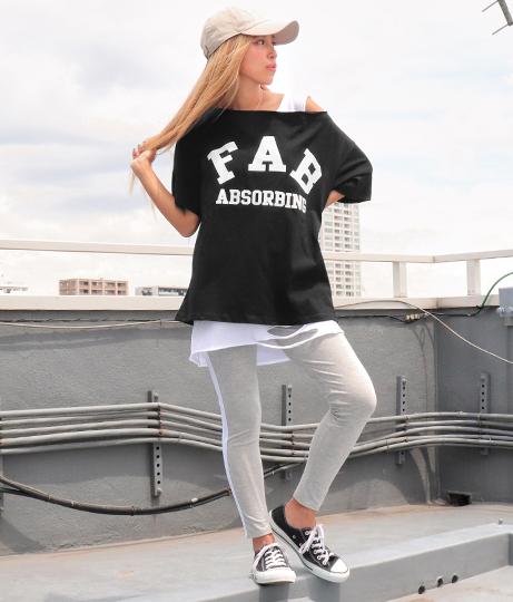 ロゴオフショルTシャツ(トップス/Tシャツ) | ANAP