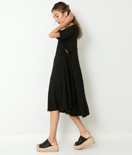 ヴィンテージサイドオープンワンピース(ワンピース・ドレス/ミディアムワンピ) | Alluge