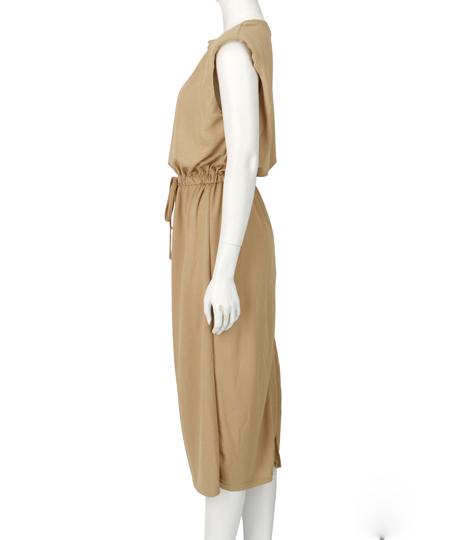 ウエストドロストワンピース(ワンピース・ドレス/ミディアムワンピ) | Alluge