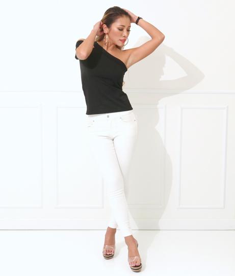 2パターンカッティングワンショルダートップス(トップス/Tシャツ・カットソー )   anap Latina