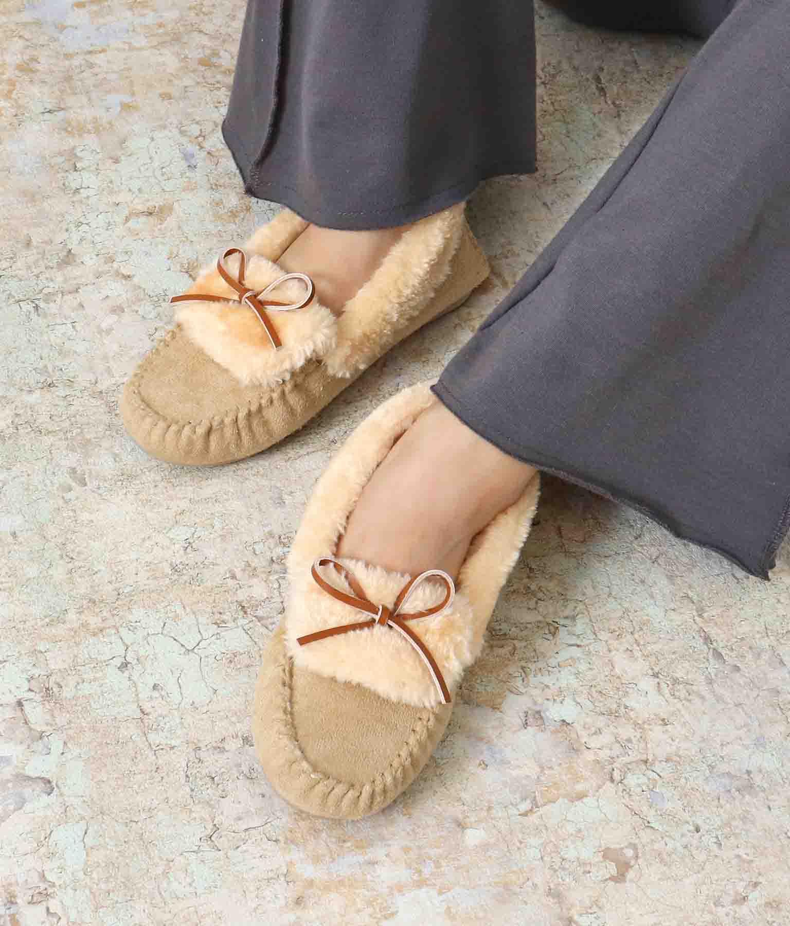 ボリュームボアモカシンシューズ(シューズ・靴/パンプス) | ANAP