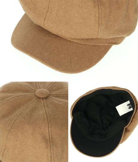 ウールライクキャスケット(ファッション雑貨/ハット・キャップ・ニット帽 ・キャスケット・ベレー帽) | ANAP