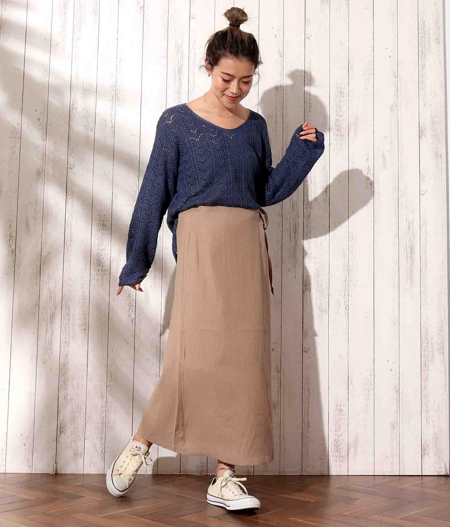 ラップロングスカート(ボトムス・パンツ /スカート)   anap mimpi
