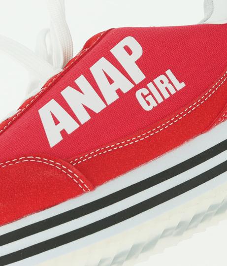 ライン入り厚底スニーカー(シューズ・靴/スニーカー) | ANAP GiRL