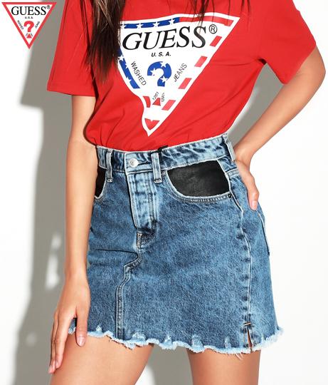 GUESS LILAC MINI SKIRT(ボトムス・パンツ /スカート) | GUESS