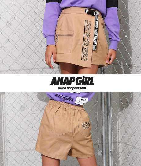 リングジップポケット付きパンツ(ボトムス・パンツ /ショートパンツ) | ANAP GiRL