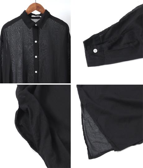 ロングシャツワンピース(ワンピース・ドレス/シャツ・ブラウス・ロングワンピ)   AULI