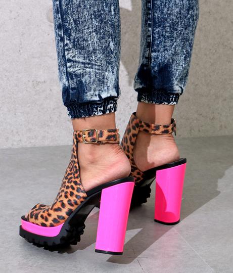 2パターン柄ネオンMIXブーティー(シューズ・靴/ブーツ) | Anap USA