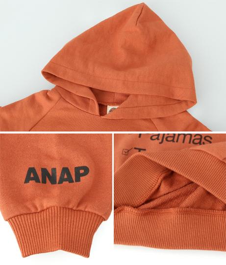 スウェットプリントフーディートップス(トップス/スウェット・トレーナー) | ANAP KIDS