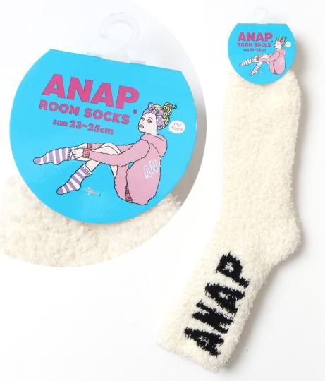 ANAPビッグロゴモコモコソックス(ファッション雑貨/ソックス・靴下)   ANAP HOME