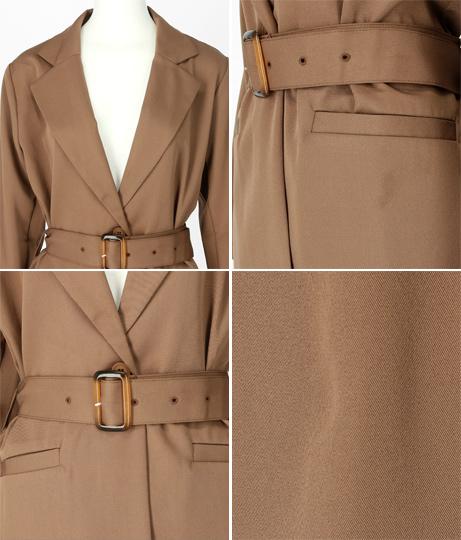ベルト付きジャケット(アウター(コート・ジャケット) /ジャケット・ブルゾン) | ANAP