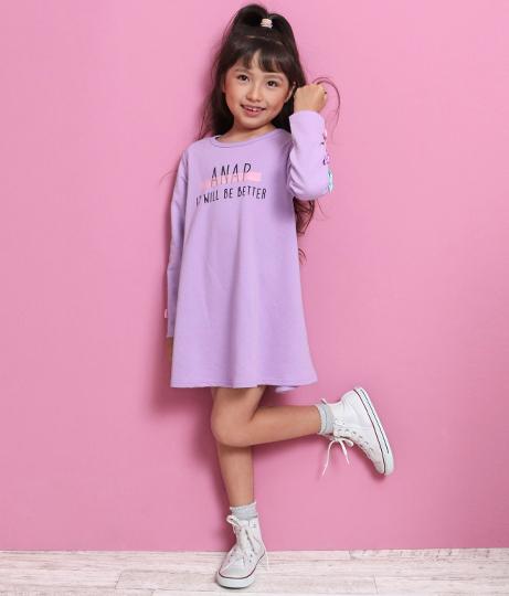 袖リボンワンピース(ワンピース・ドレス/ミニワンピ) | ANAP KIDS