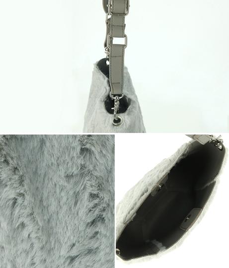 ファーショルダーバッグ(バッグ・鞄・小物/ショルダーバッグ) | anap mimpi