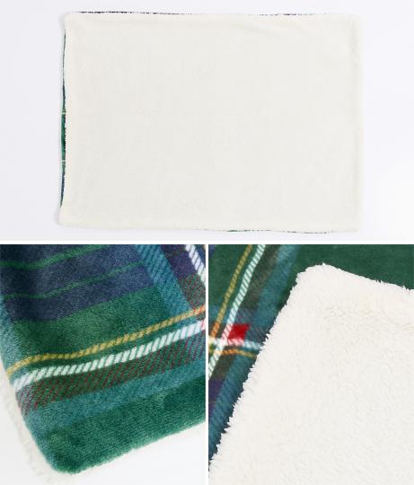 ウィリアムチェックボアブランケット(インテリア雑貨/ブランケット・寝具・寝具カバー) | ANAP HOME