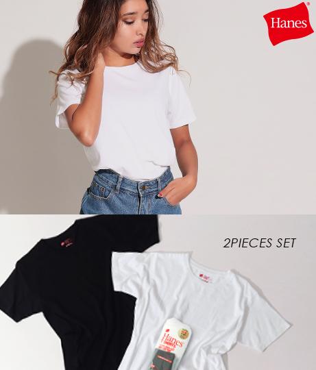 2P JAPAN FIT クルーネックTシャツ