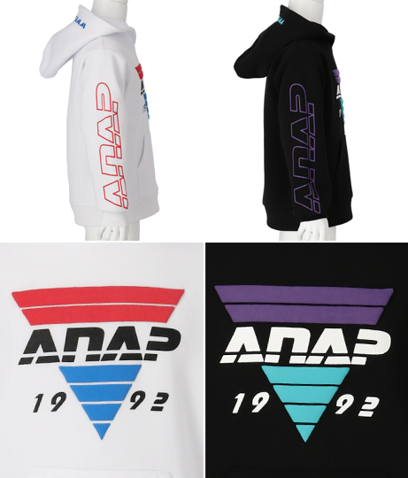 裏起毛発泡プリントトップス | ANAP KIDS