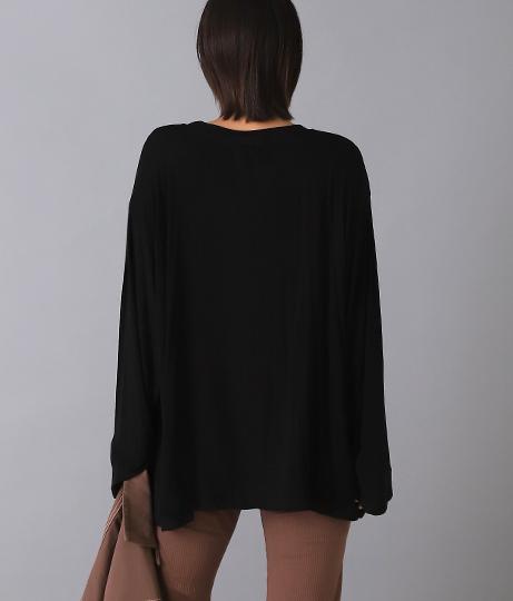 BIGルーズロングTシャツ(トップス/カットソー ) | Alluge
