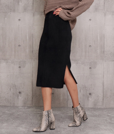 シャギーニットタイトスカート(ボトムス・パンツ /ニットスカート ・ミモレ丈スカート・スカート) | ANAP