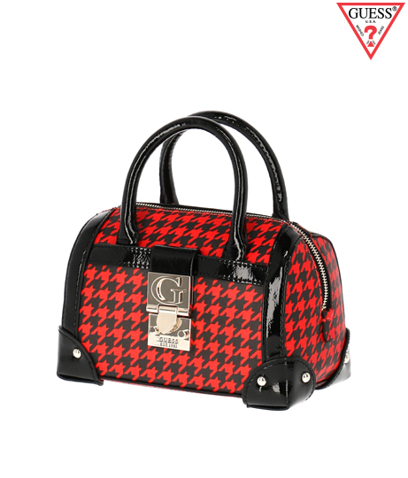 GUESS LUCIENNE SMALL BOX SATCHEL