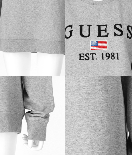 GUESS ELWIN CN FLEECE  | GUESS