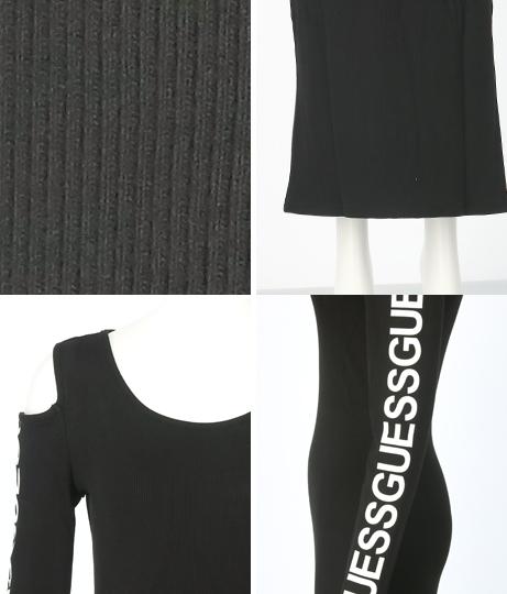 GUESS FIONA DRESS(ワンピース・ドレス/ロングワンピ・マキシ丈ワンピース) | GUESS