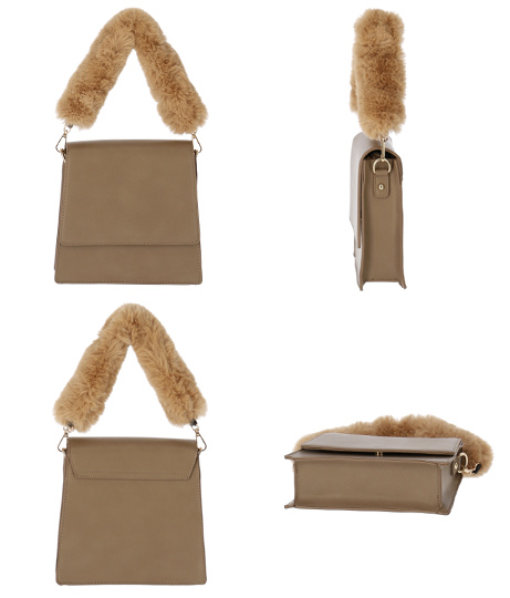 2WAYファーハンドルバッグ(バッグ・鞄・小物/ハンドバッグ・ショルダーバッグ) | ANAP