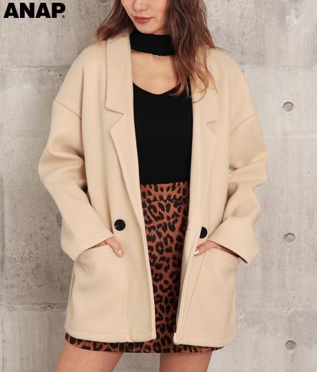 ウールライクジャケット