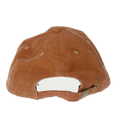 ワッペン風刺繍コーデュロイキャップ(ファッション雑貨/ハット・キャップ・ニット帽 ・キャスケット・ベレー帽) | anap mimpi
