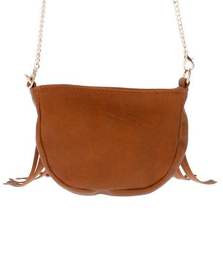 フリンジミニショルダーバッグ(バッグ・鞄・小物/ショルダーバッグ・ショルダーポシェット) | anap mimpi