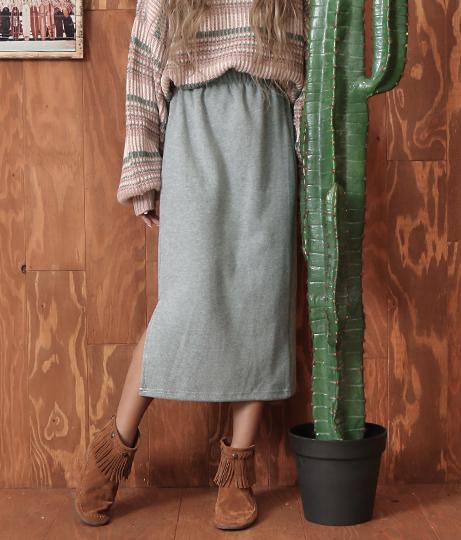 ベーシックスリットスカート