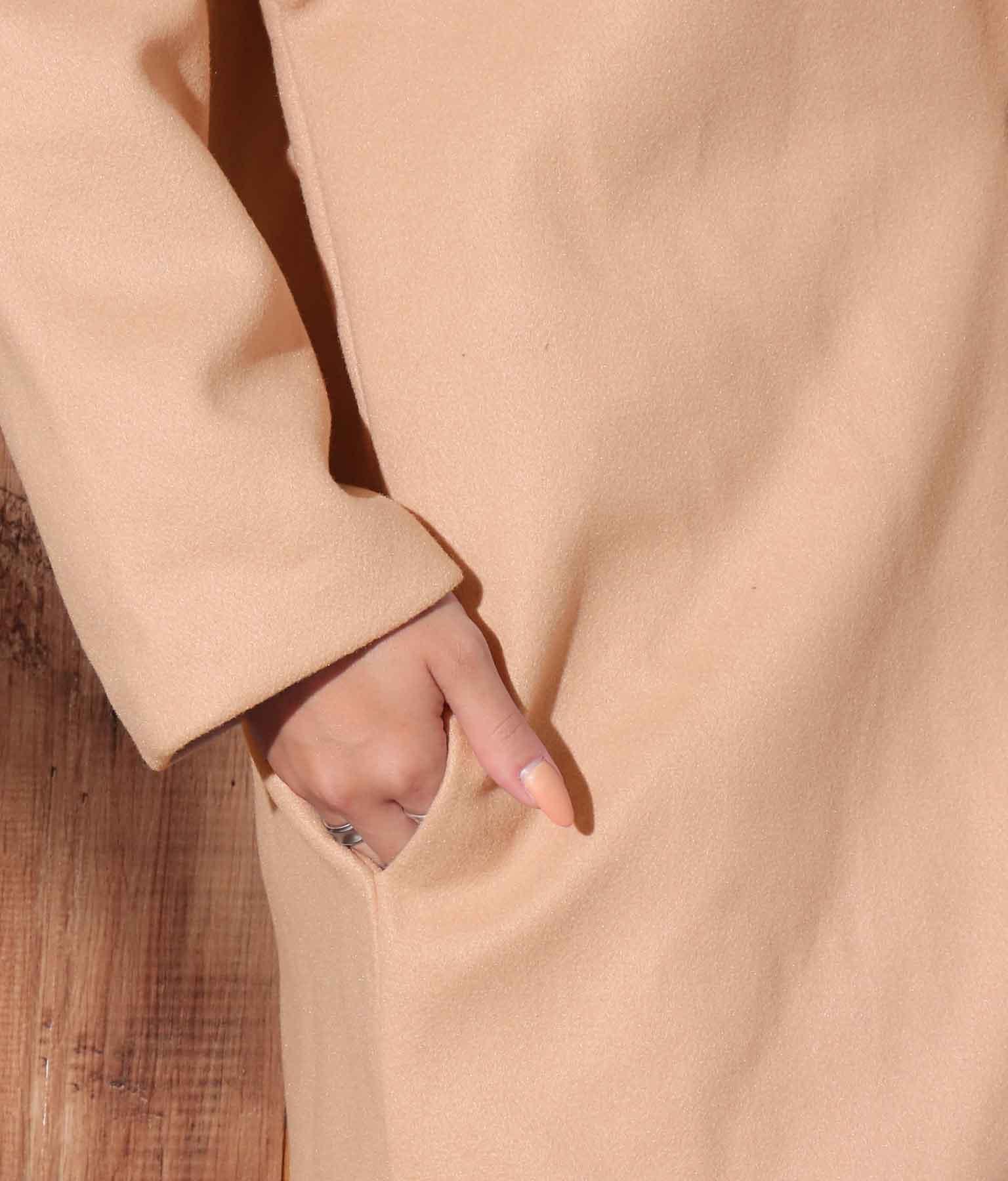 シングルボタンロングチェスターコート(アウター(コート・ジャケット) /コート (トレンチコート・ロングコート) ) | anap mimpi