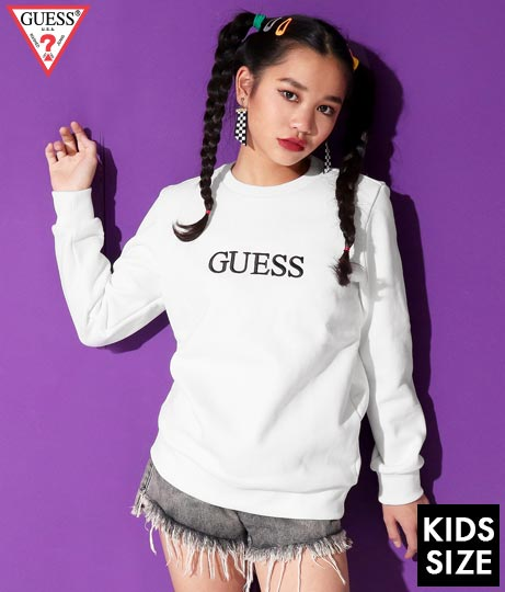 GUESS KIDS L/SLV SWEATSHIRT W/FRONT EMBROIDERY