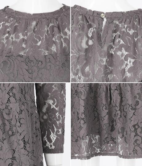 ティアードコードレースワンピース(キャミペチコート付)(ワンピース・ドレス/ロングワンピ)   Alluge