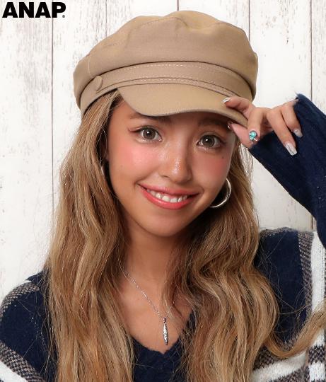 コットンマリンキャップ(ファッション雑貨/ハット・キャップ・ニット帽 ・キャスケット・ベレー帽) | ANAP