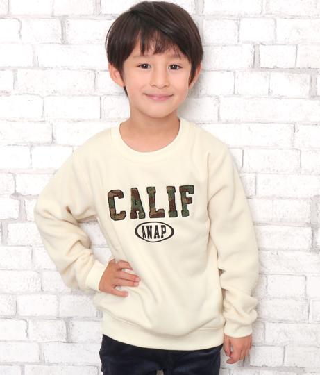 迷彩サガラ刺繍ロゴトレーナー | ANAP KIDS