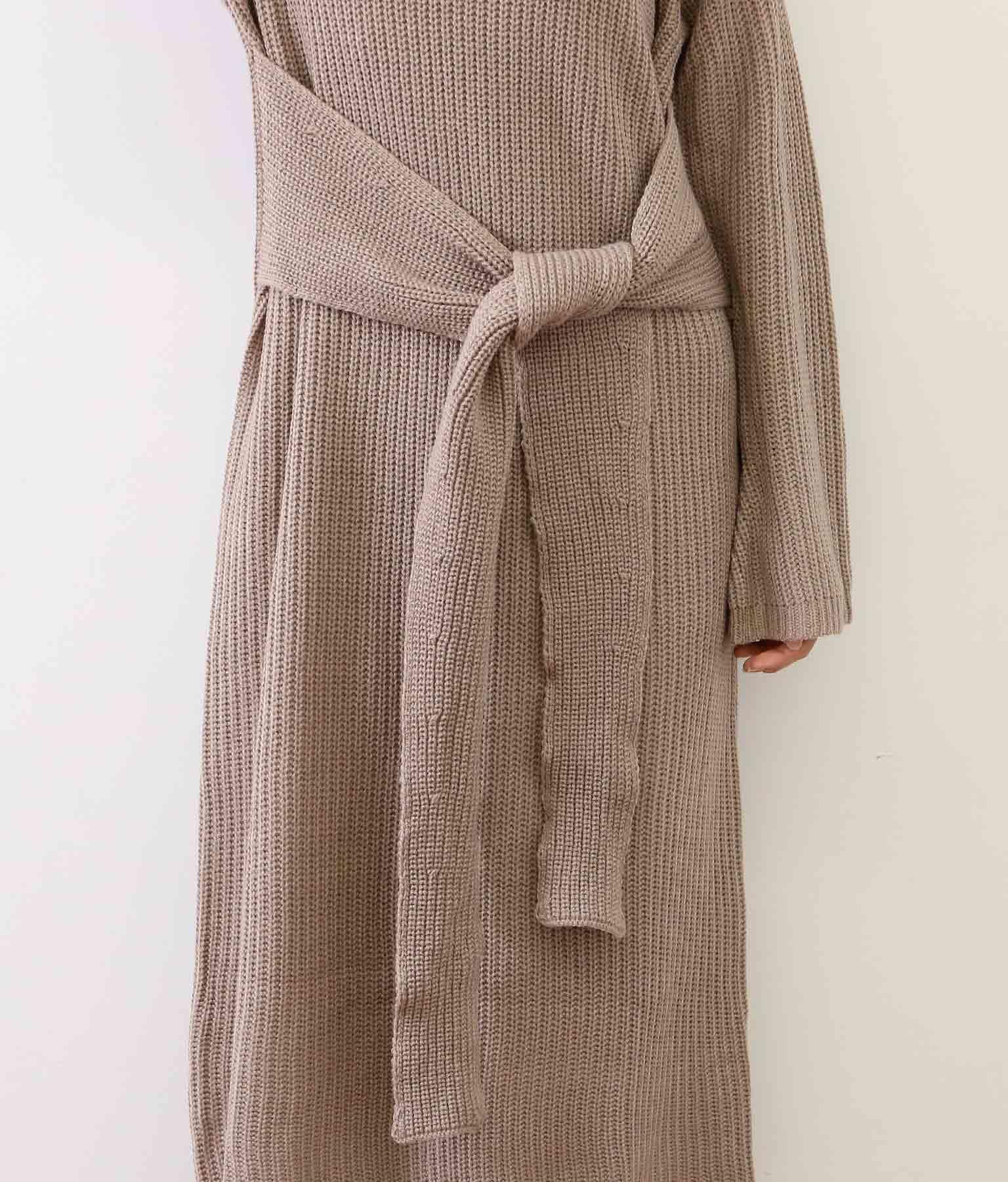 2WAYウエストリボンニットワンピース(ワンピース・ドレス/ミディアムワンピ) | CHILLE