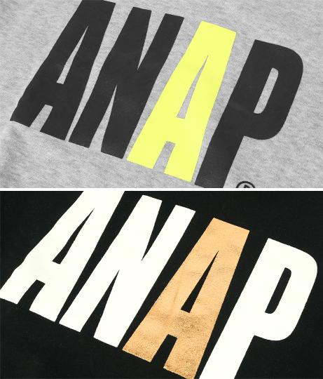 ビッグロゴプリント裏起毛トレーナー | ANAP KIDS