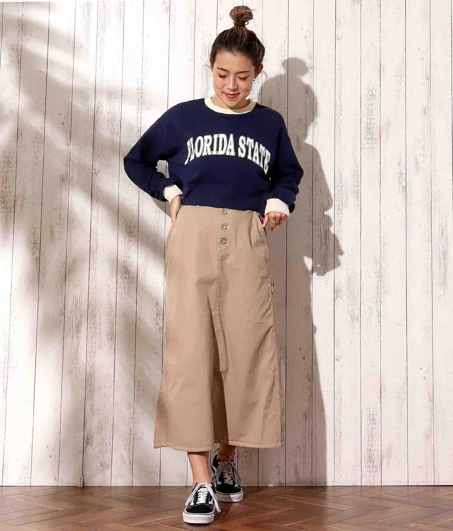 チノツイルロングスカート(ボトムス・パンツ /スカート)   anap mimpi