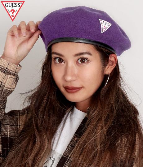 GUESS BERET CAP