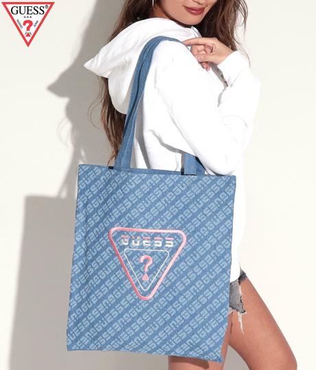 GUESS TOTE BAG(バッグ・鞄・小物/トートバッグ)   GUESS