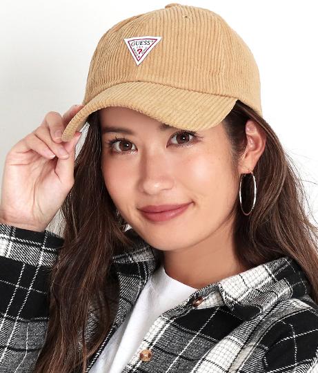 GUESS CORDUROY BALL CAP W/ORIGINAL LABEL(ファッション雑貨/ハット・キャップ・ニット帽 ・キャスケット・ベレー帽) | GUESS