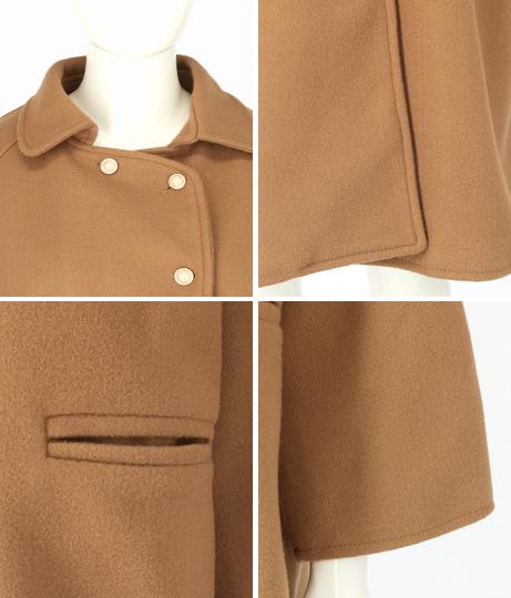 パールボタン付きチェスターコート(アウター(コート・ジャケット) /コート (トレンチコート・ロングコート) ) | CHILLE