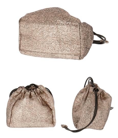シャイニー巾着バッグ(バッグ・鞄・小物/ショルダーバッグ)   CHILLE