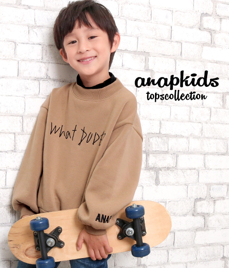 ネックレイヤードトレーナー   ANAP KIDS