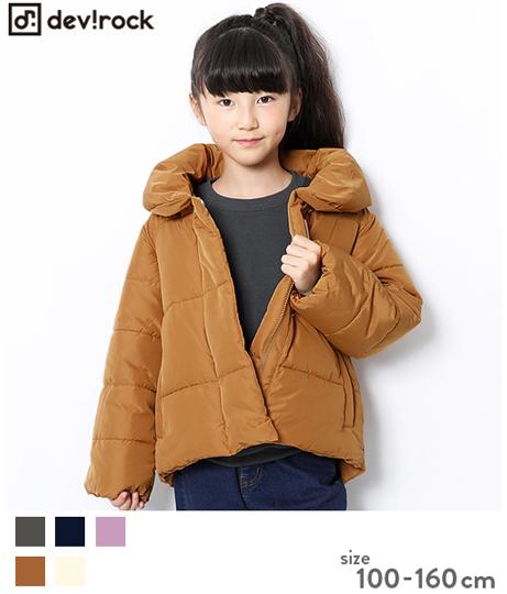 子供服 キッズ 女児中綿ジャケット 女の子 ベビー アウター 羽織 ジャンパー 韓国子供服