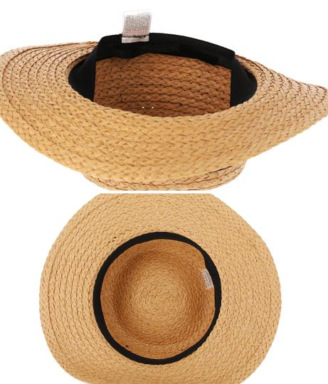 UVワイドリボンカンカン帽(ファッション雑貨/ハット・キャップ・ニット帽 ・キャスケット・ベレー帽)   Alluge