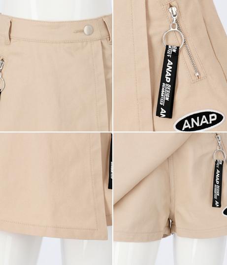 リングジップスカパン(ボトムス・パンツ /ショートパンツ・スカート) | ANAP KIDS