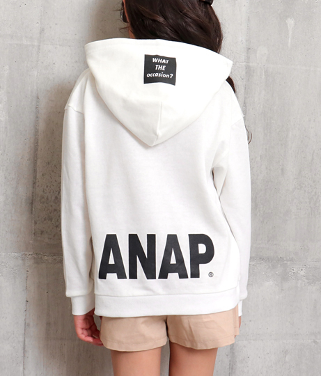 ANAPロゴプリントフーディースウェットトップス(トップス/スウェット・トレーナー) | ANAP KIDS