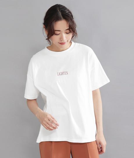 LIGHTEN ロゴTシャツ