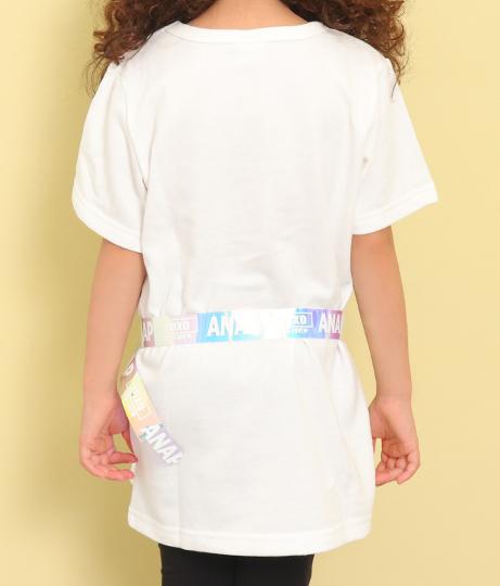 オーロラベルト付プリントチュニック(トップス/Tシャツ・チュニック) | ANAP KIDS
